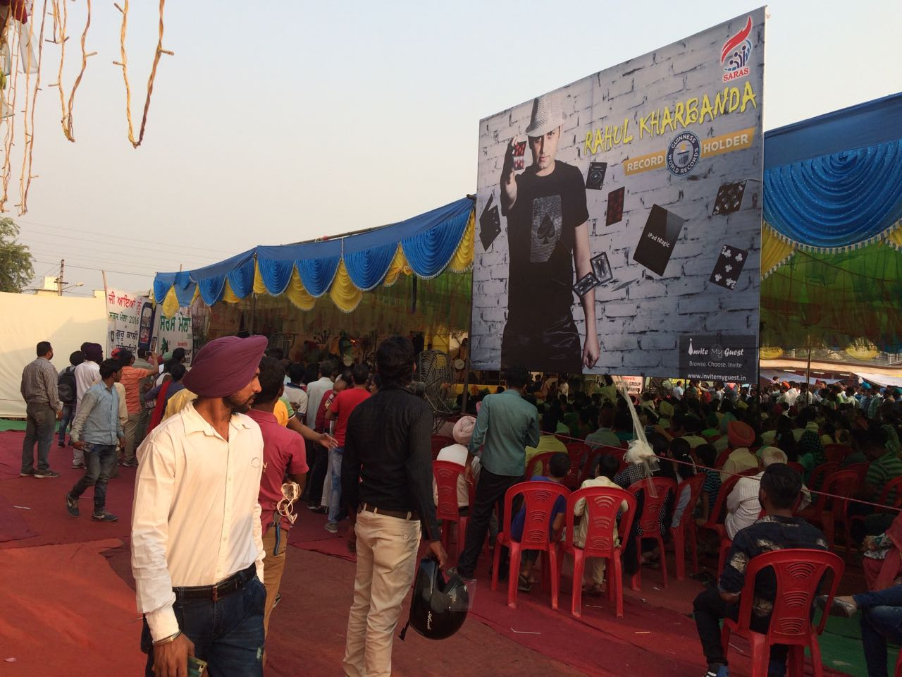 Promotions at SARAS Bathinda (Punjab)