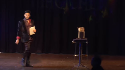 I PAD Magician & illusionist RAHUL KHARBANDA introduces World famous LEVITATION in INDIA
