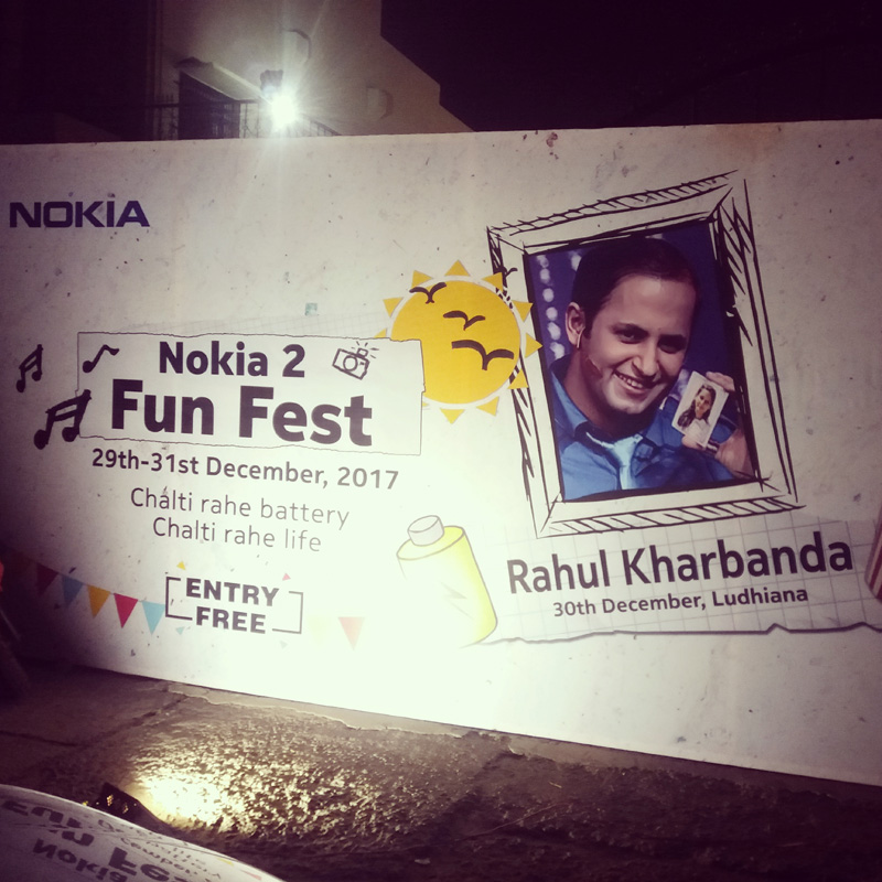 I PAD MAGIC at NOKIAs Non Stop Fun Fest that ran for 3 continuous days showcasing the Long Battery Life of NOKIA Handset..   Lucky Draw Winners were revealed through a Magic act