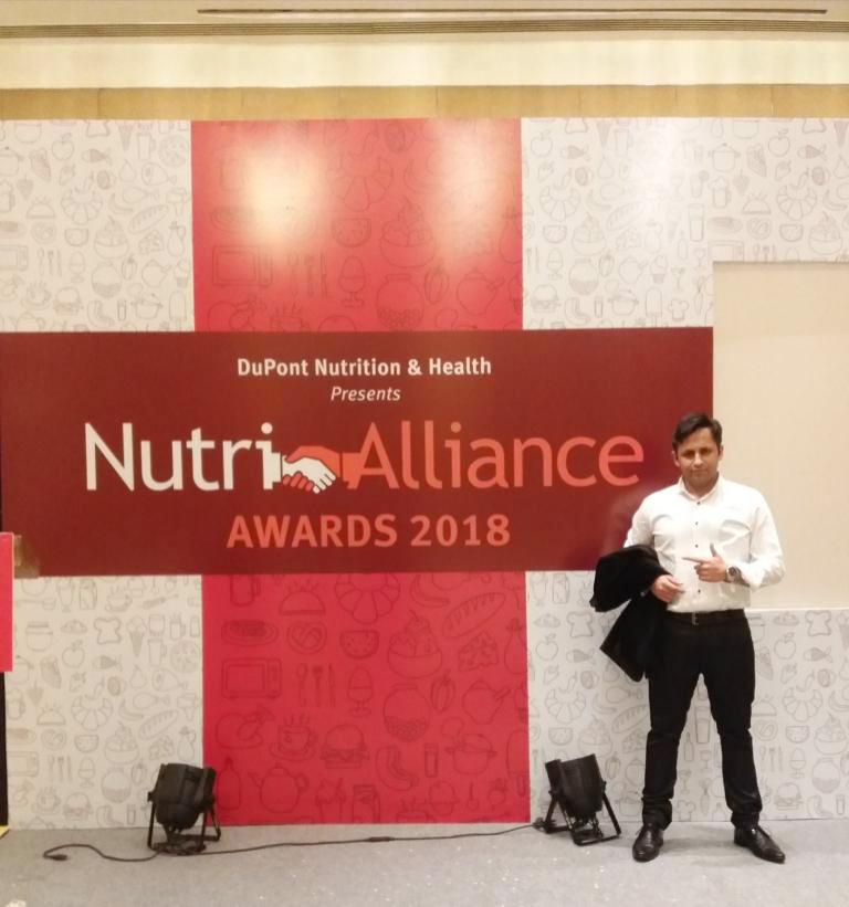Digital Magic with Mind reading with Audiences set of phones during DU PONTs Nutri Alliance Awards 2018