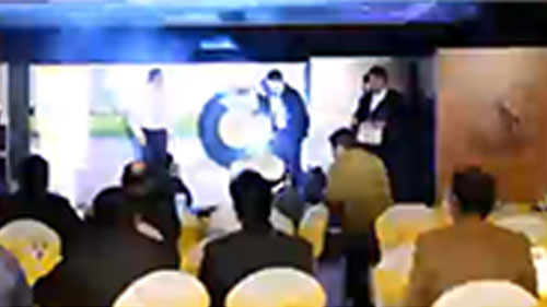 I PAD Magic -- PRODUCT LAUNCH of CONTINENTAL TYRE by illusionist RAHUL KHARBANDA