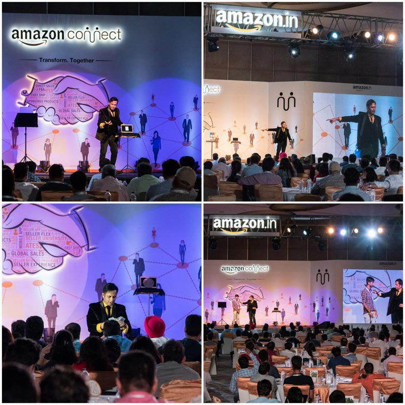 Customised MENTALISM Act for AMAZON by illusionist RAHUL KHARBANDA