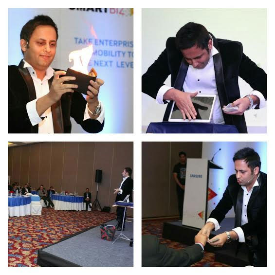 Digital illusions on SAMSUNG TABLET during SAMSUNGs Dealers Meet