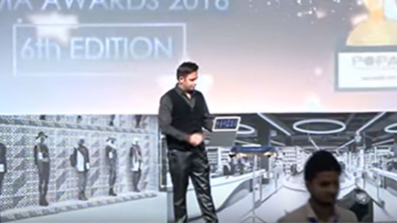 I Pad Interactive MAGIC during POPAI Global Awards 2016 at Pragati Maidan (New Delhi)