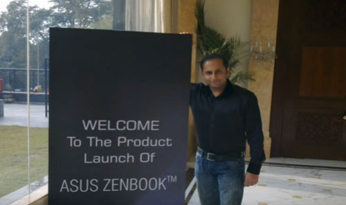 ASUS Laptop Launch by illusionist RAHUL KHARBANDA.wmv