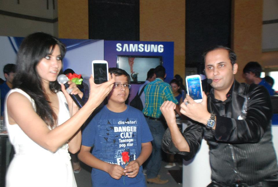 Mall Promotion Activity for SAMSUNG S III